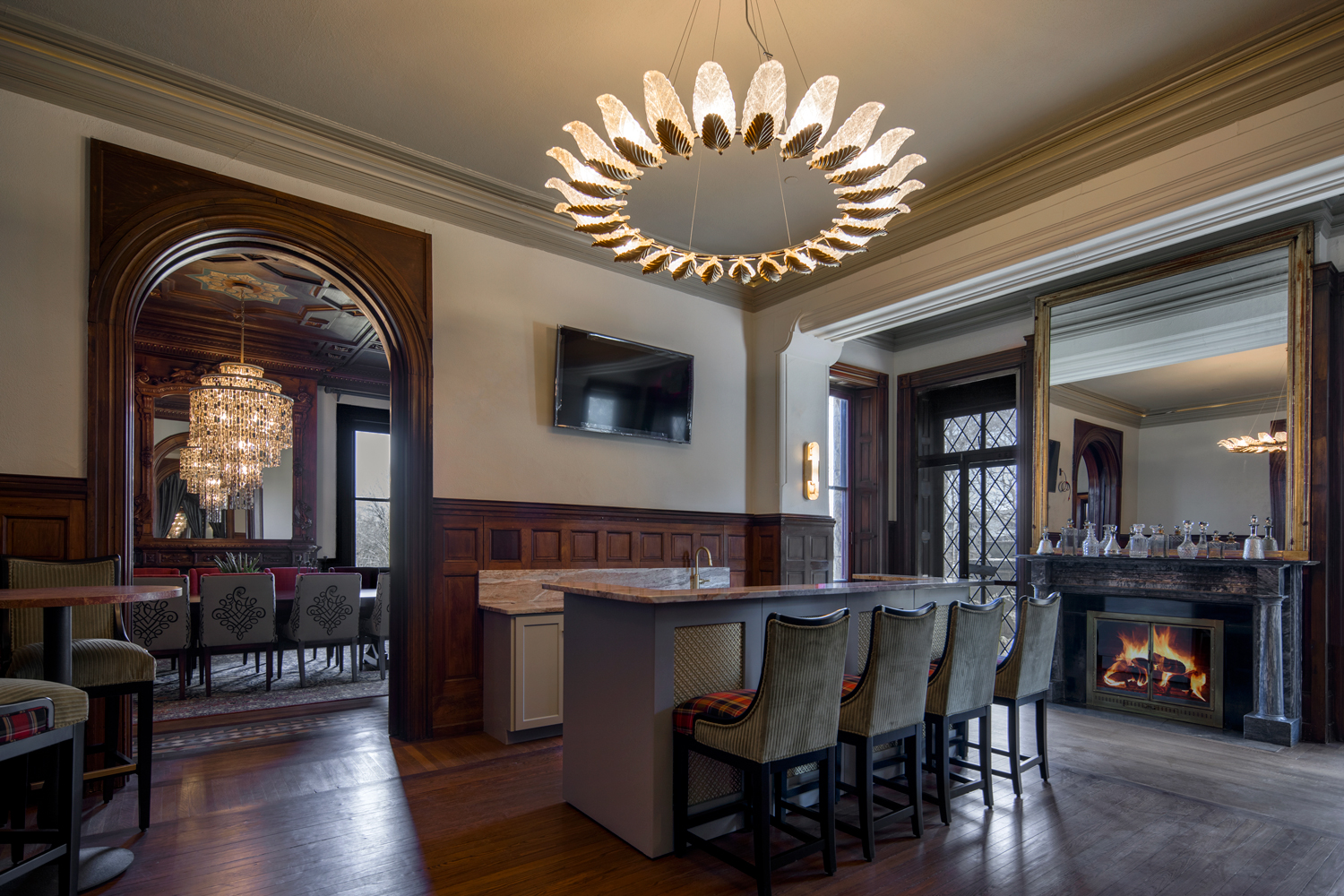 Maybrook Mansion - Bar Area