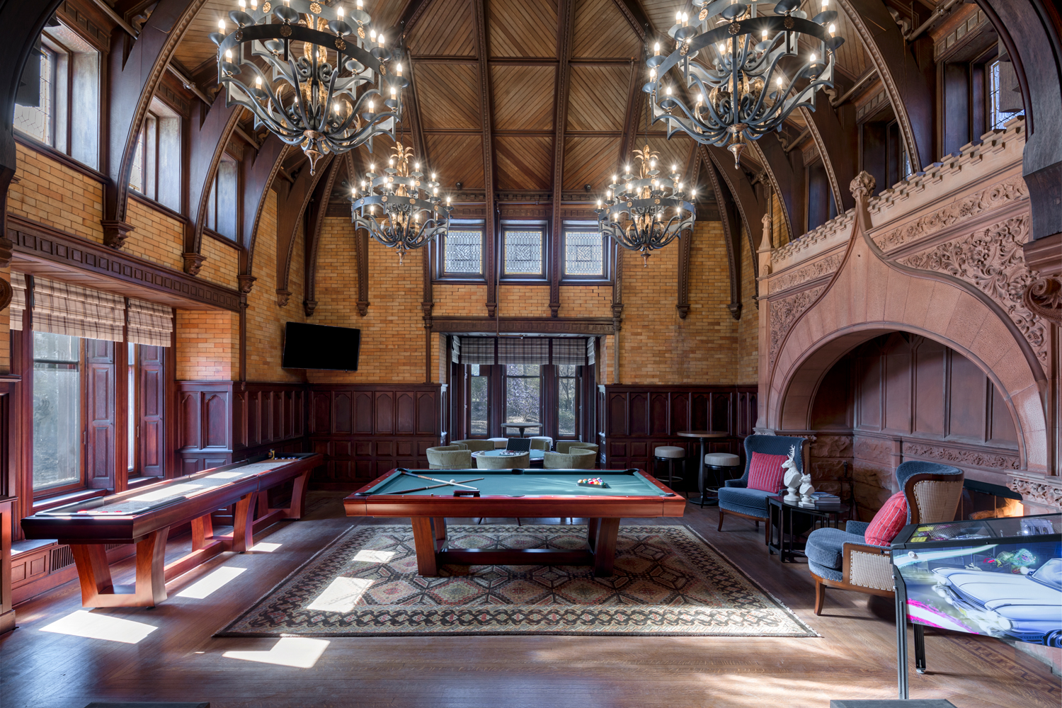 Maybrook Mansion - Game Room