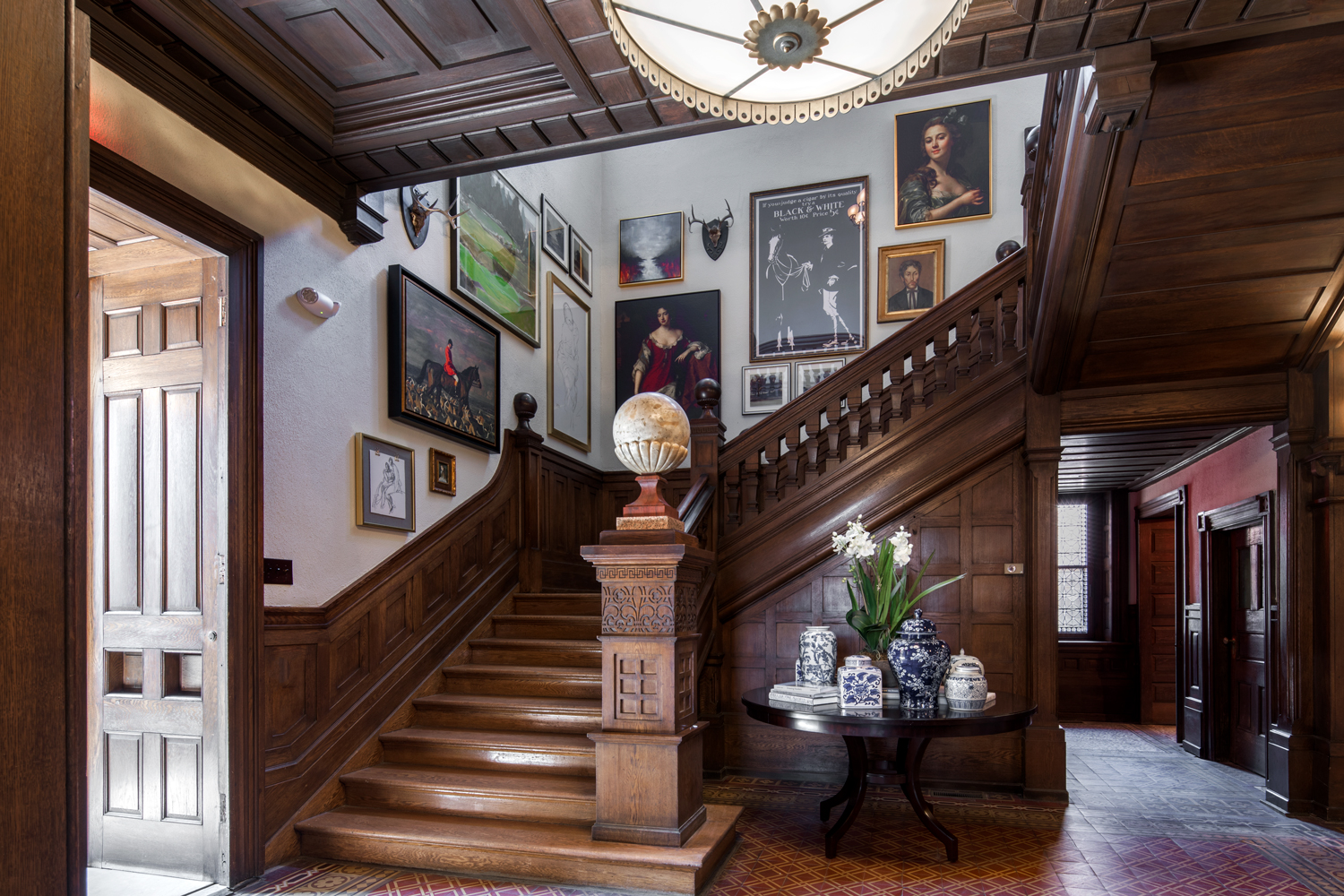 Maybrook Mansion - Stairs